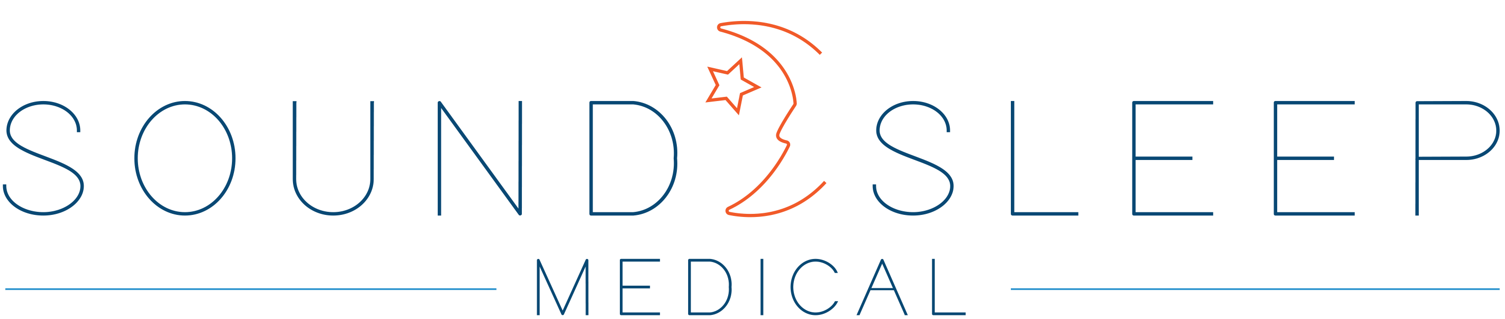 sound sleep medical logo