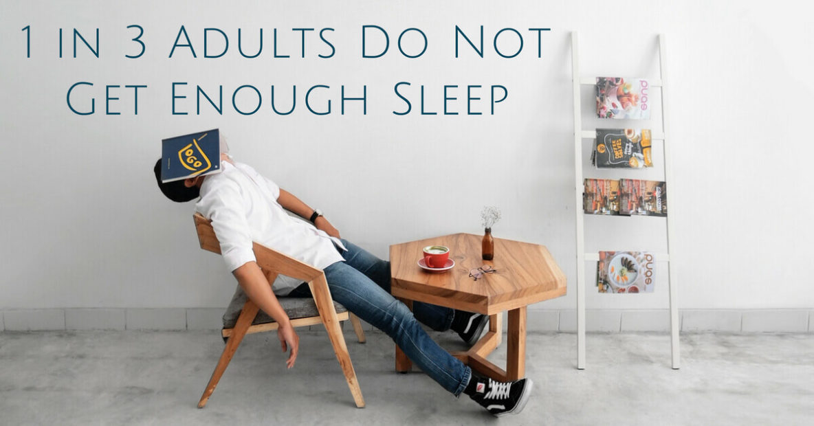 1 in 3 Adults Do Not Get Enough Sleep