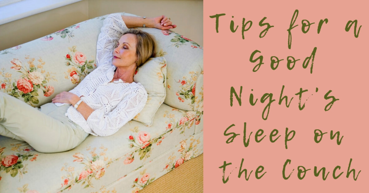 Tips for a Good Night's Sleep on the Couch